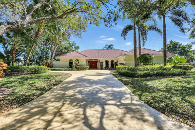 Tequesta Single Family Home For Sale: 18001 SE Heritage Drive