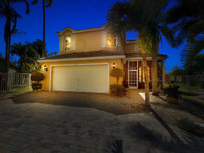Royal Palm Beach Single Family Home Contingent: 172 Canterbury Place