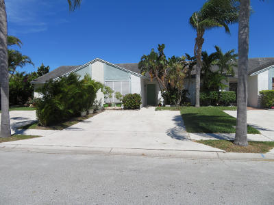Jupiter Single Family Home For Sale: 168 Pinewood Court