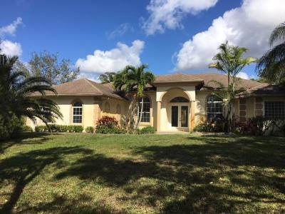 Broward County, Palm Beach County Single Family Home For Sale: 13435 151st Lane