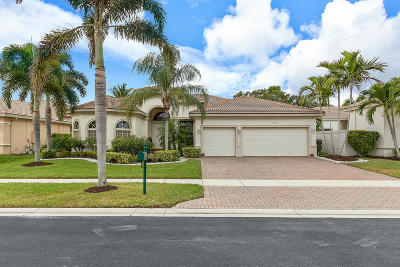 Royal Palm Beach Single Family Home For Sale: 2621 Arbor Lane