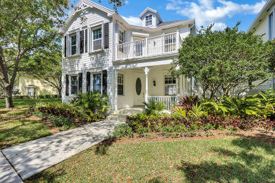 Jupiter Single Family Home Contingent: 313 Barbados Drive