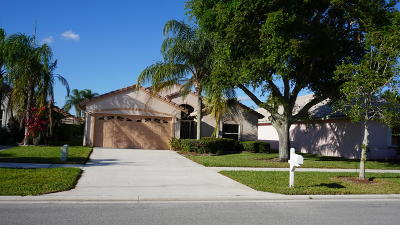 Delray Beach Single Family Home Contingent: 7829 Stirling Bridge Boulevard S