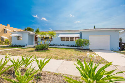 Lake Worth, Lakeworth Single Family Home For Sale: 235 Fordham Drive