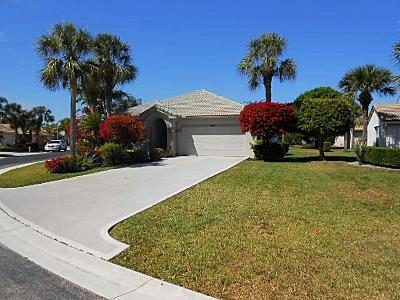 Greenacres Single Family Home For Sale: 2825 Waters Edge Circle