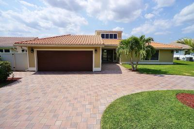 Boynton Beach Single Family Home For Sale: 11327 Wingfoot Drive