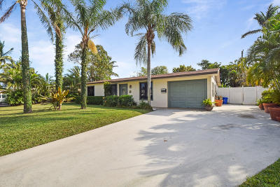 North Palm Beach Single Family Home For Sale: 973 Laurel Road