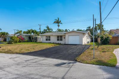 Fort Lauderdale Single Family Home Contingent: 1810 NE 54th Street