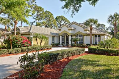 Port Saint Lucie Single Family Home For Sale: 8208 Kiawah Trace