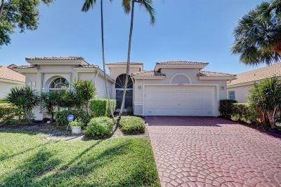Boynton Beach Single Family Home For Sale: 12775 Coral Lakes Drive