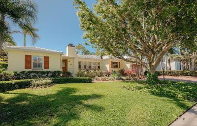 Palm Beach County Single Family Home For Sale: 1112 S Vista Del Mar Drive