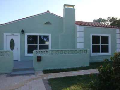 West Palm Beach Single Family Home For Sale: 724 Valley Forge Road