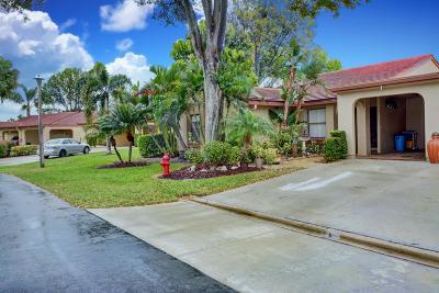Boynton Beach, Gulf Stream Single Family Home For Sale: 5896 Forest Grove Drive #1