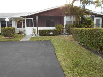 West Palm Beach Single Family Home For Sale: 5086 Campanelli Circle