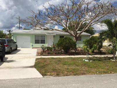 Palm Beach Gardens Single Family Home For Sale: 9357 Bloomfield Drive