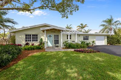 Boynton Beach Single Family Home For Sale: 3307 Fernwood Drive