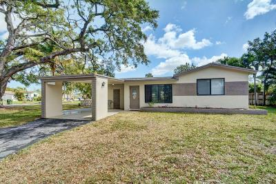 Pembroke Pines Single Family Home Contingent: 6852 SW 11th Street