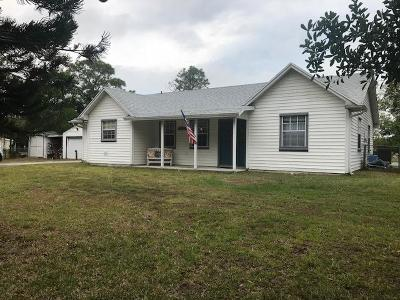 Fort Pierce Single Family Home For Sale: 1708 Old Ffa Road