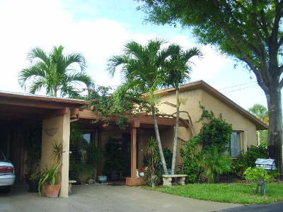 Delray Beach Single Family Home For Sale: 14808 Wildflower Lane