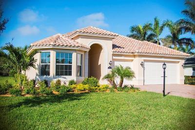 Vero Beach Single Family Home For Sale: 4185 Amelia Plantation Court