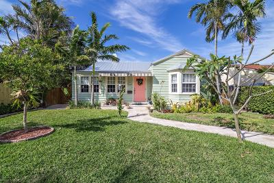 West Palm Beach Single Family Home For Sale: 433 28th Street