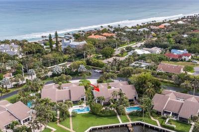 Ocean Ridge Townhouse For Sale: 6110 Ocean Boulevard #29