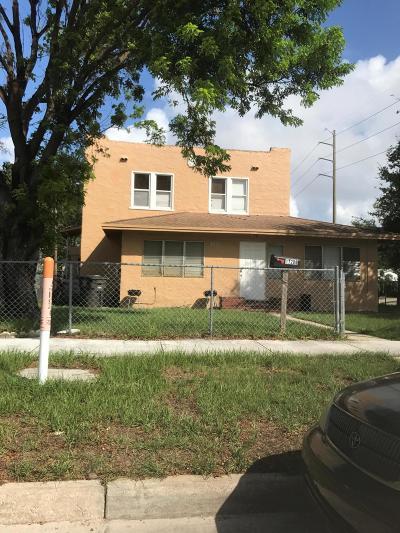 West Palm Beach Single Family Home For Sale: 1720 Mercer Avenue