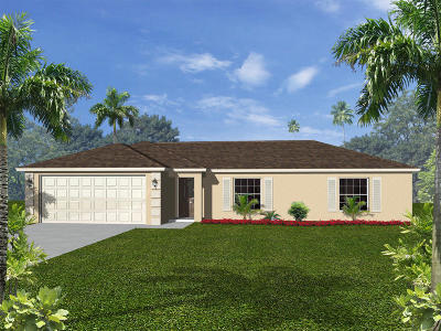 Fort Pierce Single Family Home For Sale: Tbd Hibiscus Road