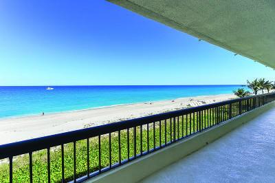Palm Beach Condo For Sale: 2660 S Ocean Boulevard #406s