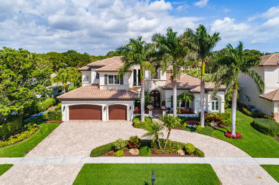 Delray Beach Single Family Home For Sale: 3889 Live Oak Boulevard