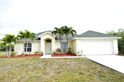 Port Saint Lucie FL Single Family Home For Sale: $199,888