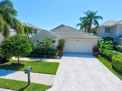 Palm Beach Gardens Single Family Home For Sale: 591 Masters Way