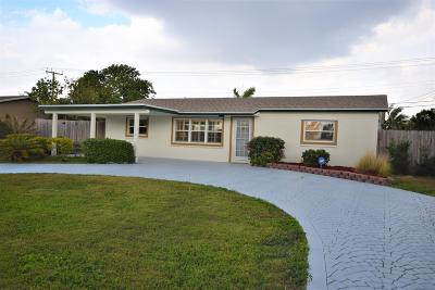 Boynton Beach Single Family Home For Sale: 1027 SW 28th Avenue