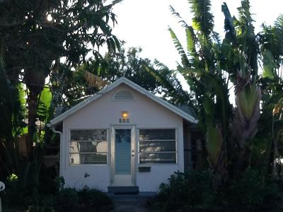 Lake Worth Single Family Home Contingent: 431 Lakeside Drive