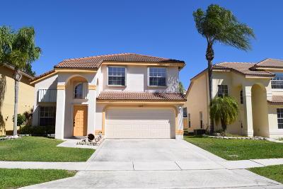Boca Raton Single Family Home For Sale: 10223 Serene Meadow Drive