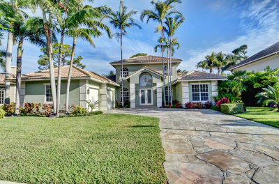 Boynton Beach Single Family Home Contingent: 4890 Glenn Pine Lane