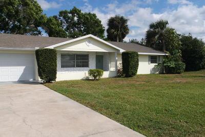 Fort Pierce Single Family Home Contingent: 6306 Emerson Avenue