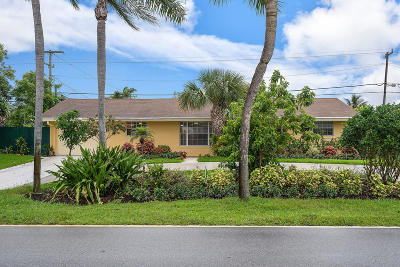 Palm Beach Gardens Single Family Home For Sale: 565 Holly Drive