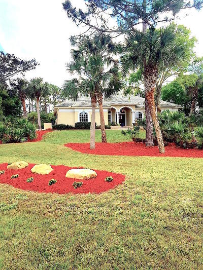 Jupiter Single Family Home For Sale: 3502 SE Long Pond Terrace