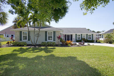 Fort Pierce Single Family Home For Sale: 4351 Gator Trace Circle
