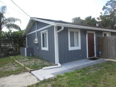 West Palm Beach Single Family Home For Sale: 241 2nd Street