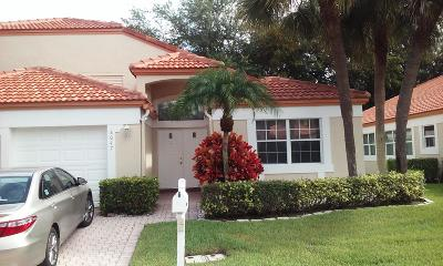 Delray Beach Single Family Home For Sale: 8047 Tranquility Lake Drive
