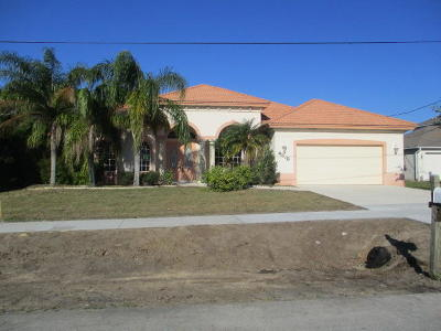 Port Saint Lucie Single Family Home Contingent: 4318 SW Yamada Drive