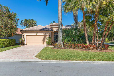 West Palm Beach Single Family Home For Sale: 8155 Cypress Point Road