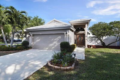 Delray Beach Single Family Home For Sale: 4095 Sabal Lakes Road