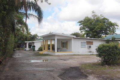 Lake Worth Multi Family Home For Sale: 3771 Coconut Road