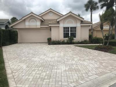 Jupiter Single Family Home For Sale: 3820 Shearwater Drive