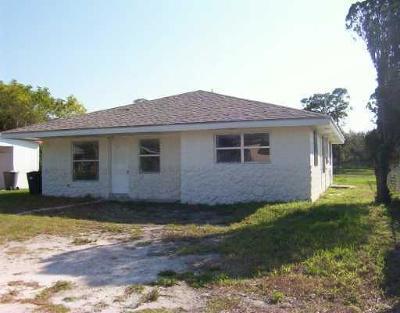 Fort Pierce Single Family Home For Sale: 3003 Carver Street