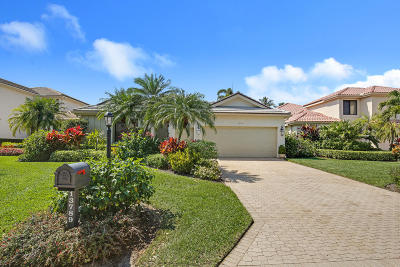 Palm Beach Gardens Single Family Home For Sale: 13789 Le Havre Drive
