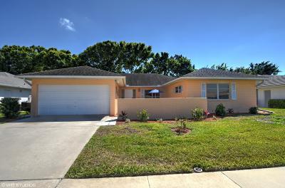 Boynton Beach Single Family Home For Sale: 10982 Greentrail Drive S